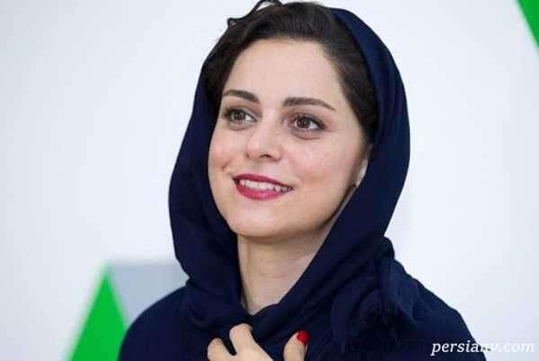 گریم زیبای غزل شاکری خواهر ناصرالدین شاه در سریال جیران