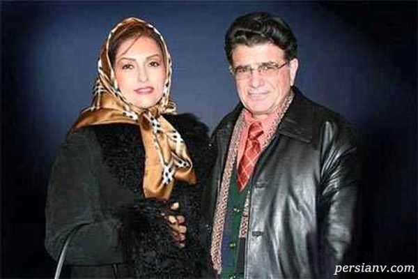 خواننده مرحوم و همسرش