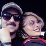 تبریک تولد خاص مونا فائزپور به همسرش احمد مهرانفر