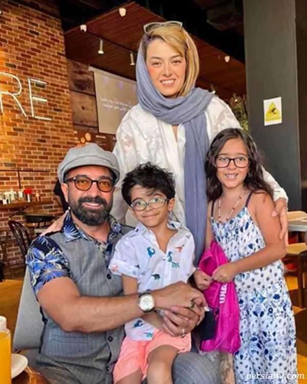 مجید صالحی و همسرش