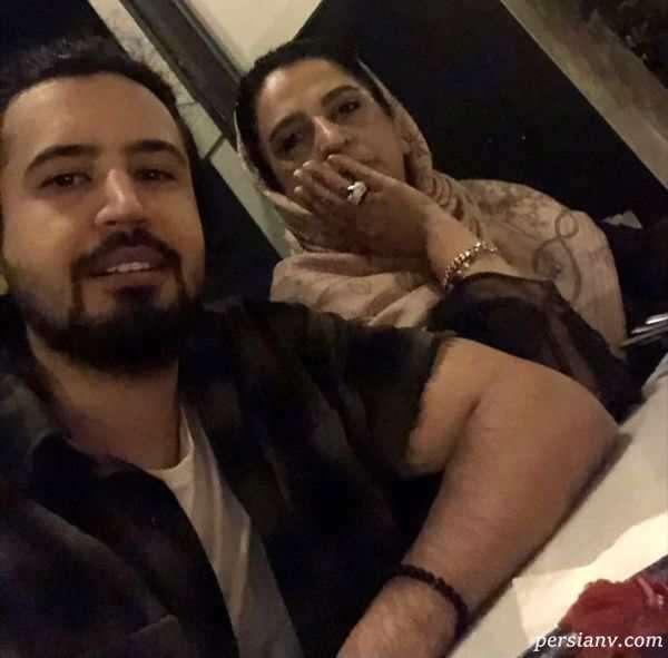 مهرداد صدیقیان و مادرش