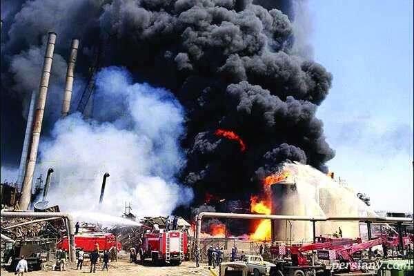 عکس آتش نشانان تهرانی که در شبکه های مجازی پربازدید شد!