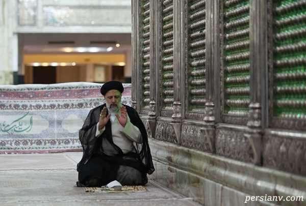 رئیسی در حرم امام خمینی