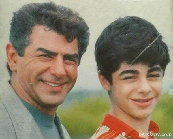 شباهت زیاد سام قریبیان به پدرش بازیگر سینما در تصویر جدیدشان