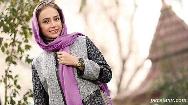 گردش شبانه شبنم قلی خانی بازیگر بدون حاشیه و دخترش شانا