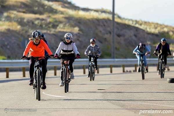 دوچرخه سواری زنان در تبریز