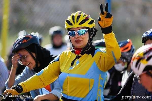 مسابقه دوچرخه سواری زنان