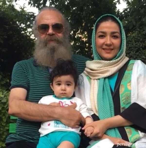سارا صوفیانی و فرزندش