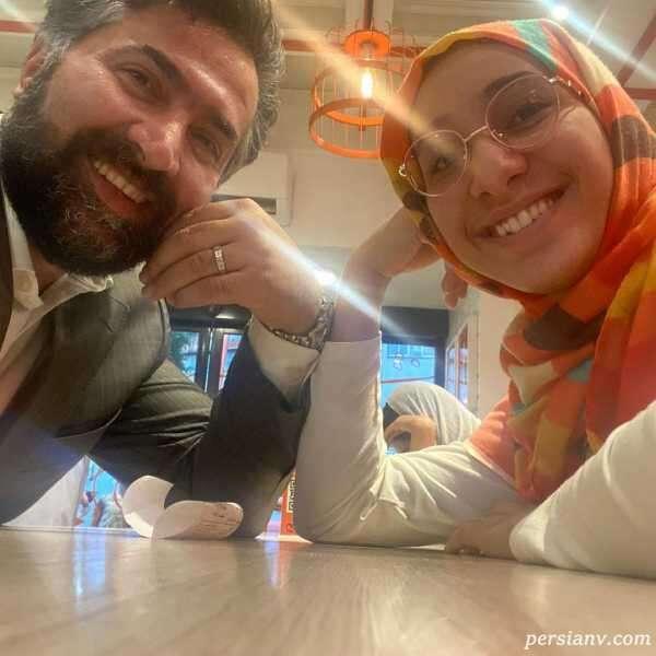 جدیدترین تصاویری که امیرخسرو عباسی از دخترش انیس منتشر کرد