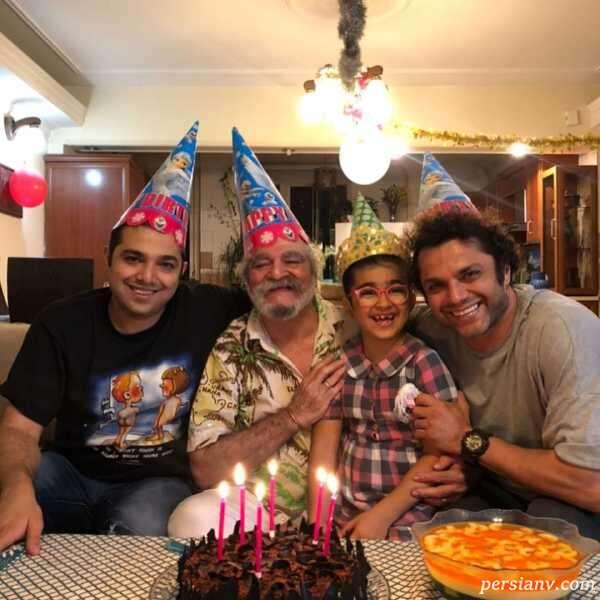 جشن تولد آرش ظلی پور