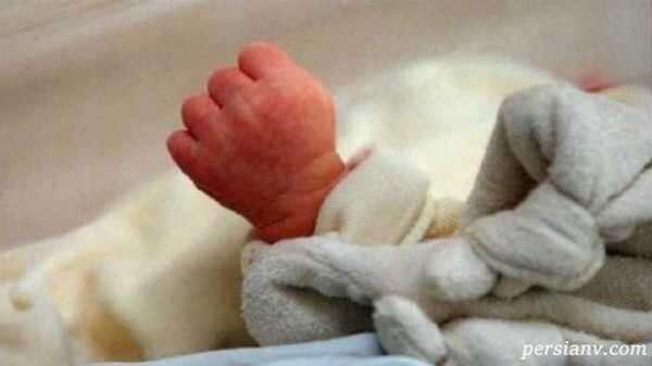 انگشتان پای نوزاد