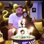 جشن تولد علی انصاریان که آرش ظلی پور بر مزارش گرفت