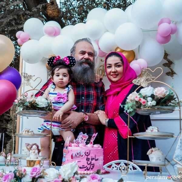 تولد دختر سارا صوفیانی