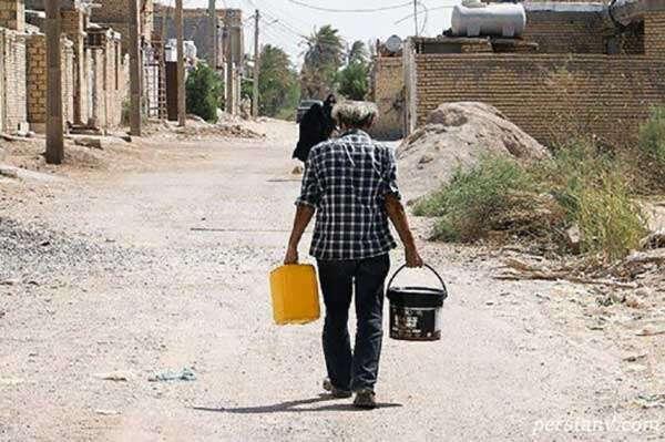 کم آبی در خوزستان