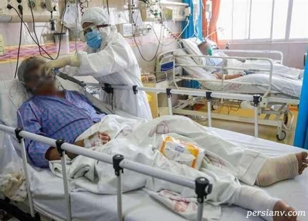 بیماران کرونایی تهران