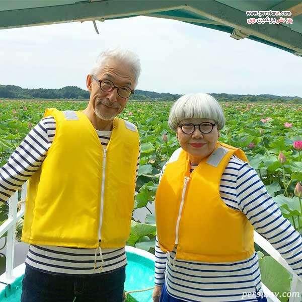 زوج ژاپنی معروف