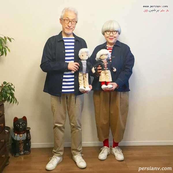 عروسک های زوج عاشق