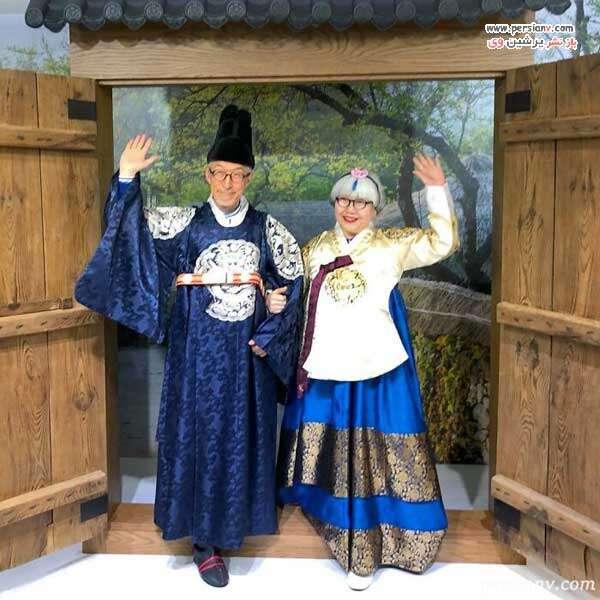 زن و شوهر ژاپنی