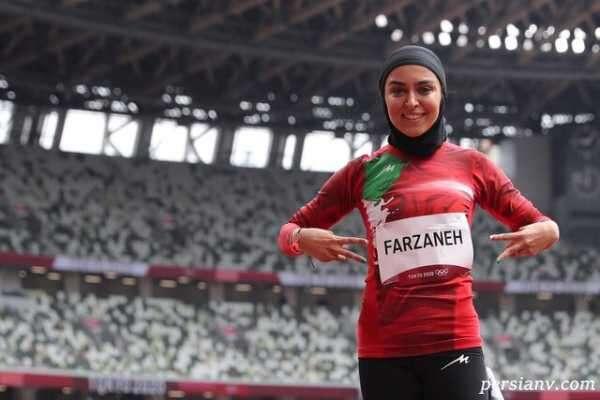 روایت دلنشین فرزانه فصیحی دونده ایرانی المپیک ۲۰۲۰ از همسرش
