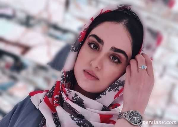 هانیه غلامی بازیگر خوش چهره سینما در اتاق عروس