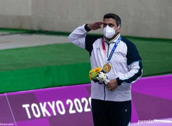 کسب مدال طلای المپیک 2020 توسط جواد فروغی تیرانداز