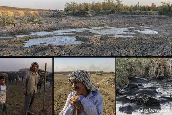 خشکسالی در خوزستان