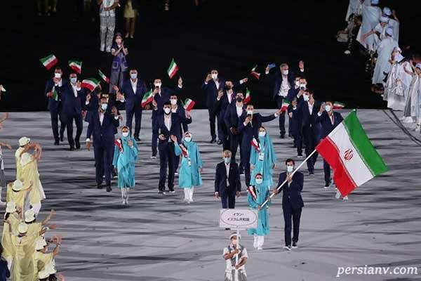 کاروان ایران در المپیک توکیو
