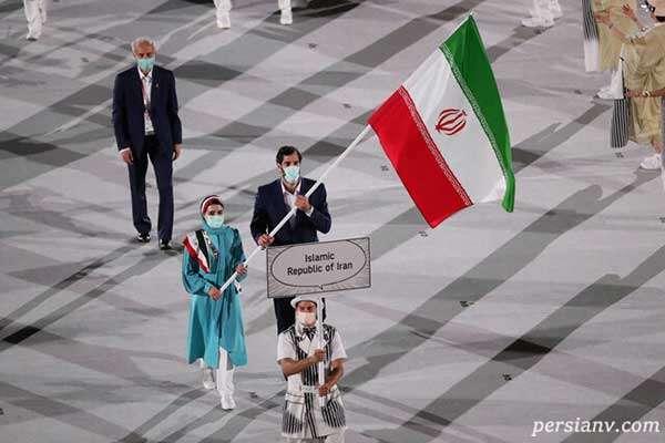 لباس رسمی ایران در المپیک