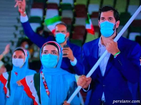 پرچمداران ایران در المپیک