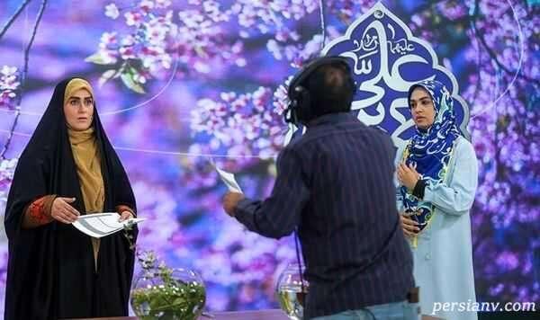 توبیخ مجری زن مشهور تلویزیونبخاطر صحبت هایش در برنامه زنده