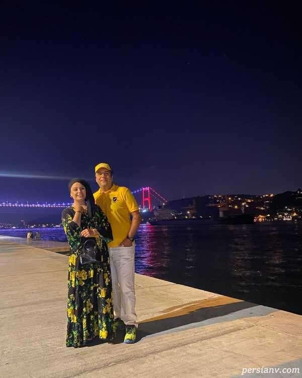 لباس صبا راد در ترکیه