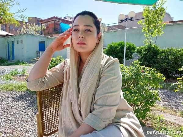 سانیا سالاری بازیگر سریال گیسو در جشن تولد ۳۲ سالگی اش