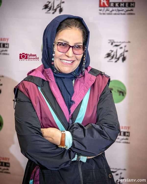 چهره جدید اکرم محمدی بازیگر