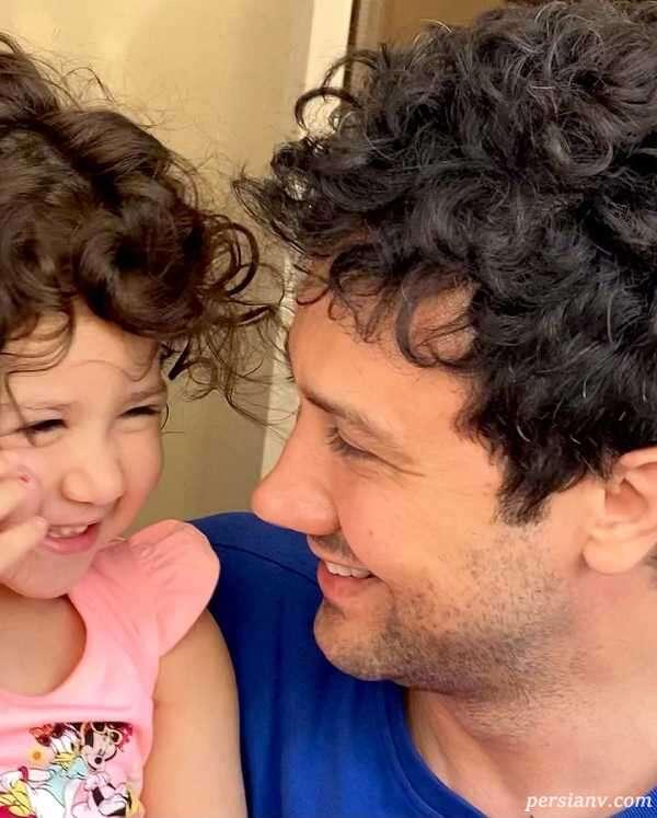 شباهت شاهرخ استخری و دخترش