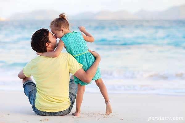 میلیون ها نفر میخکوب عشق واقعی این پدر و دختر شدند