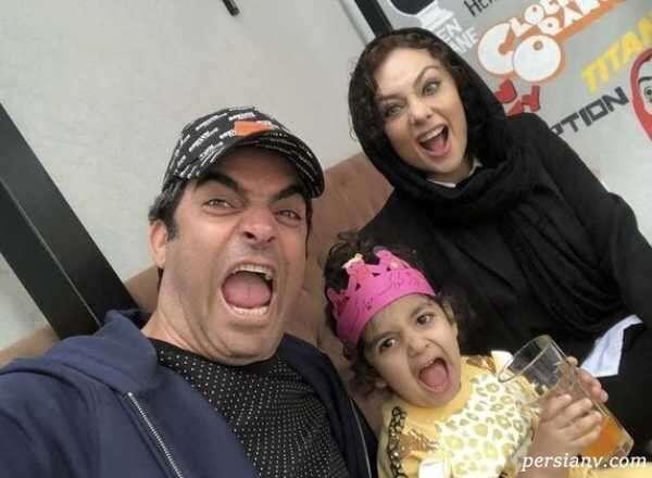 عکس خانوادگی یکتا ناصر