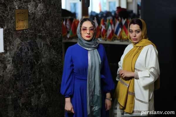هانیه توسلی در گیسو