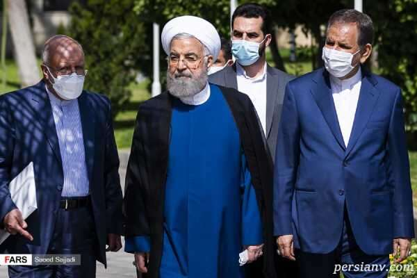 دستنوشته طلب حلالیت روحانی و دولتش در خداحافظی پاستور نشینان