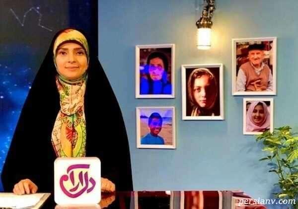 چهره جدید زینب پورابراهیم مجری تلویزیون در کنار همسر و دخترش