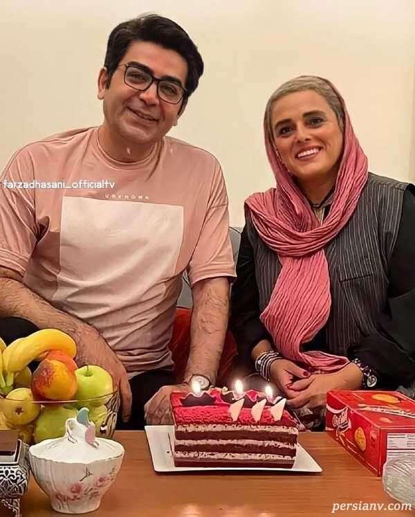 تولد فرزاد حسنی