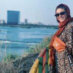 سفر فرشته حسینی همسر نوید محمدزاده به افغانستان بدون همسرش