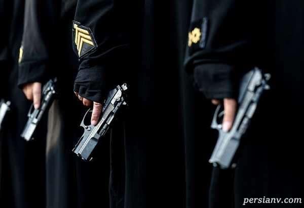 مد جدید لباس پلیس زن ایرانی , مانتو و شلواری که به هم متصل هستند