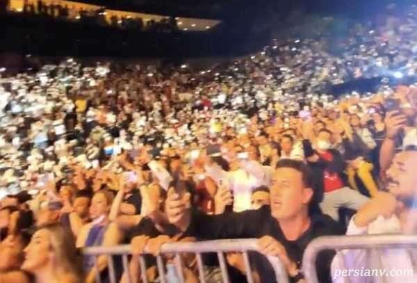 کنسرت خواننده ایرانی در ترکیه