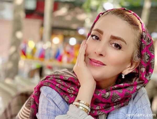 جشن تولد ژیلا صادقی مجری تلویزیون و همسر مجتبی رجبی
