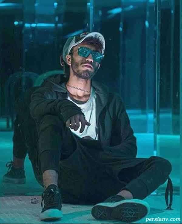 مهراد جم در سریال چای شیرین