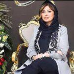 نیوشا ضیغمی بازیگر در افتتاحیه یک پاساژ بزرگ در تهران