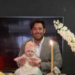 جشن تولد یک سالگی آپامه دختر بردیا گلزار