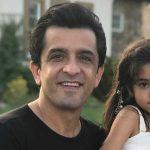 آریسا دختر مجید یاسر بازیگر مهاجرت کرده در راه آهن ایروین پارک