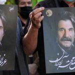 مراسم خاکسپاری عزت الله مهرآوران با حضور چهره ها