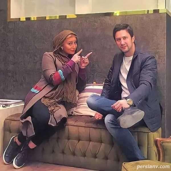 فریبا نادری در طلا فروشی شاهرخ استخری سنجاق